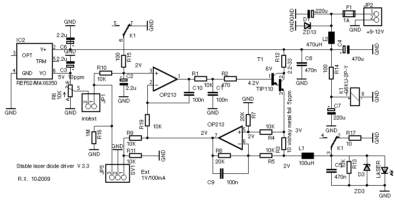 w u0026 39 s stable low noise ld driver
